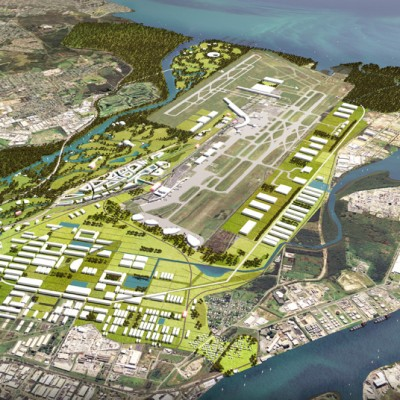 Brisbane Airport Property masterplan